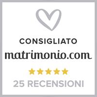 consigliato matrimonio.com badge