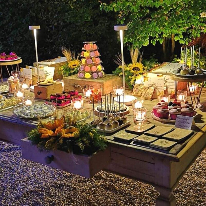 sweet table matrimonio cakepop cupcake macaron