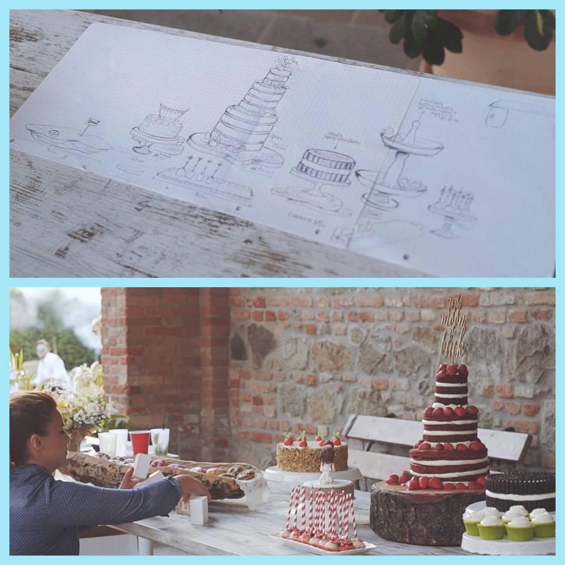 sweet table progetto e realizzazione