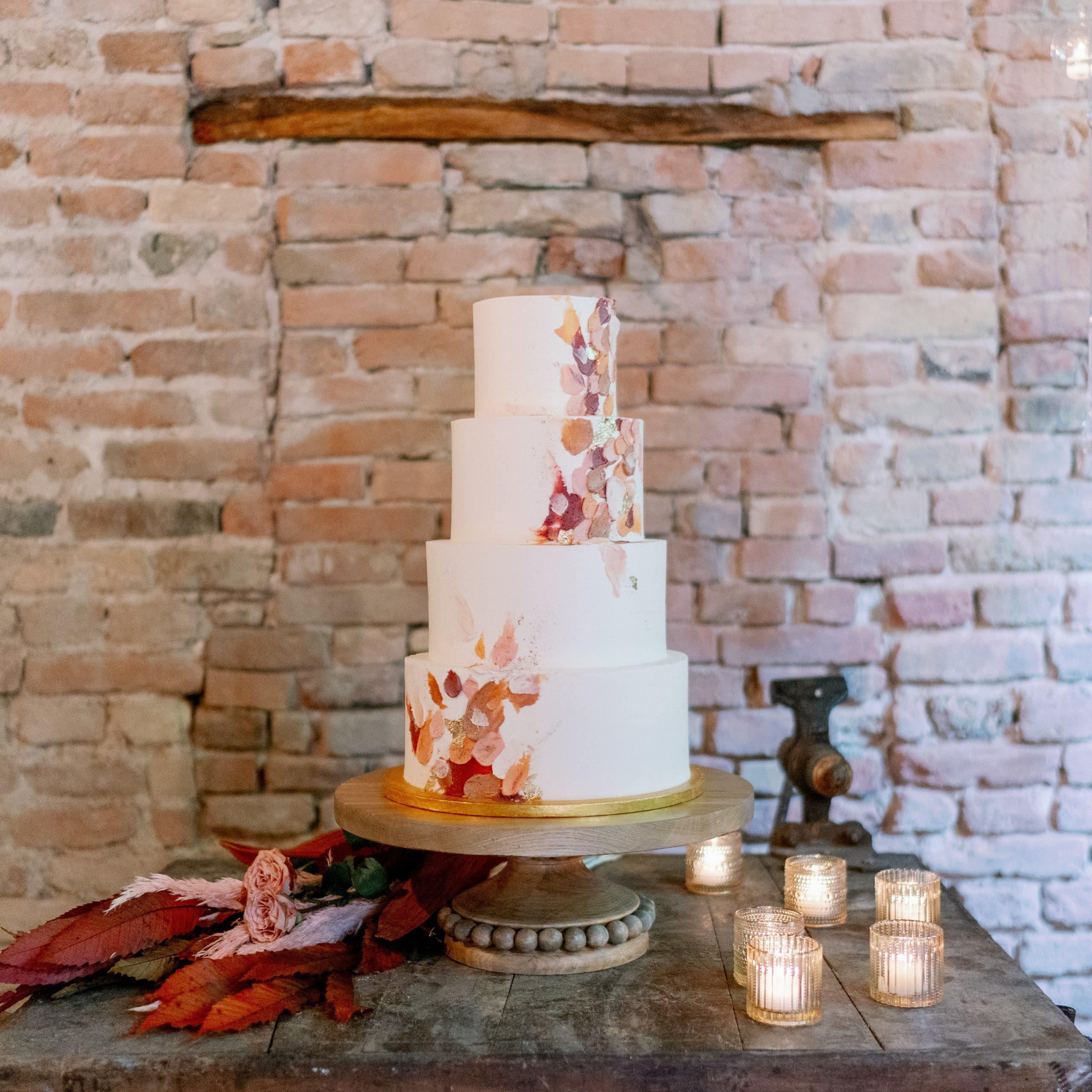 wedding cake autunnale rustica