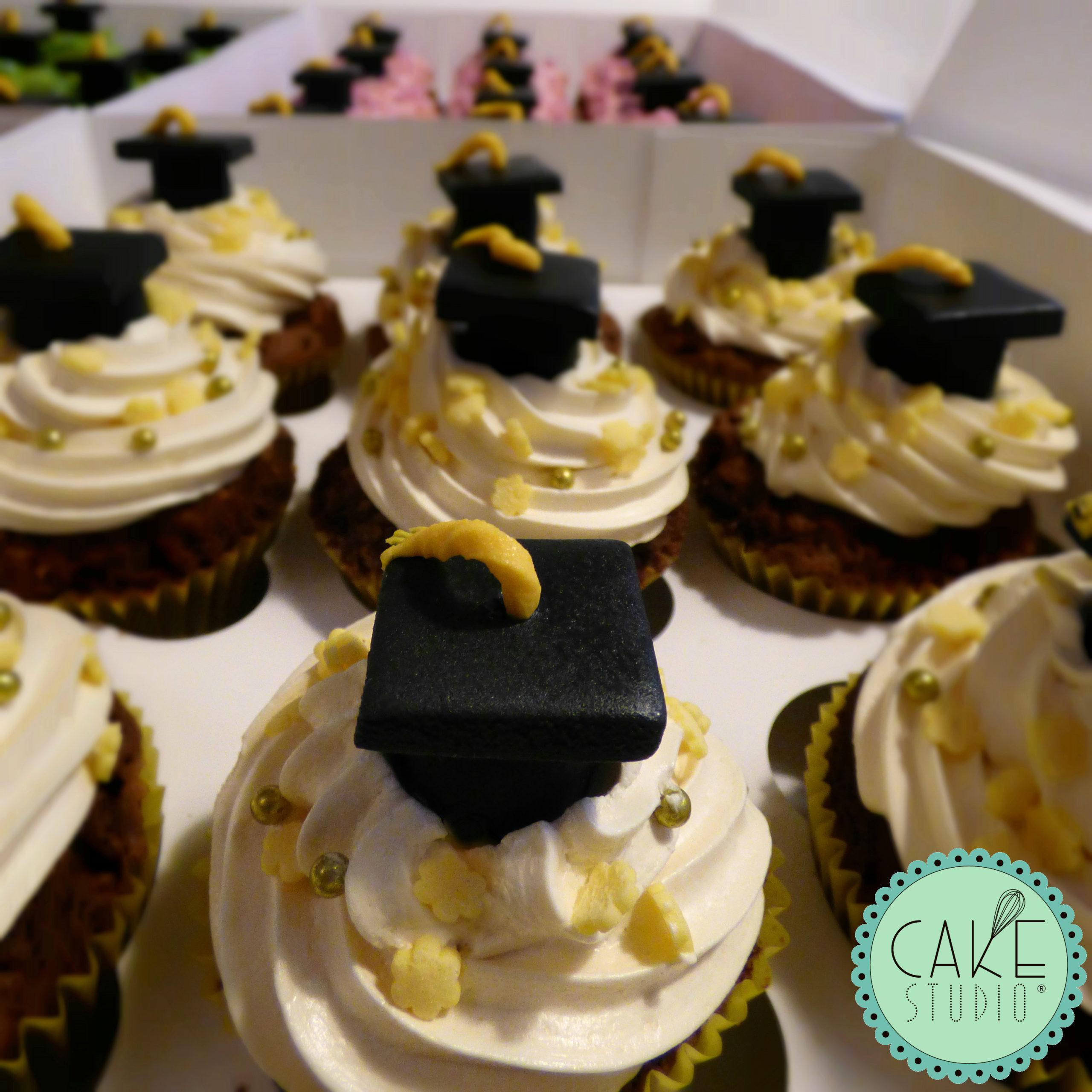 cupcake laurea con tocco